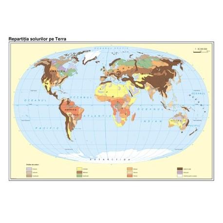 Pamantul: Harta solurilor