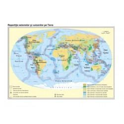 Harta Pamantul. Aspecte ale dinamicii scoartei terestre