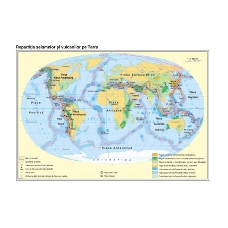 Pamantul: Harta tectonicii globale
