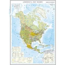 Harta economica a Americii de Nord