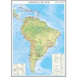 Harta economica a Americii de Sud
