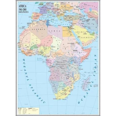 Africa. Harta politica