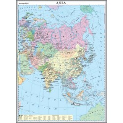 Harta politica a Asiei