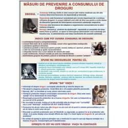 Masuri de prevenire a consumului de droguri
