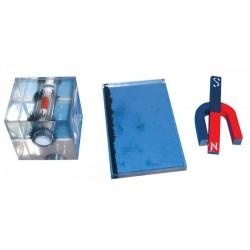Dispozitiv pentru observarea liniilor de camp magnetic (lichide)