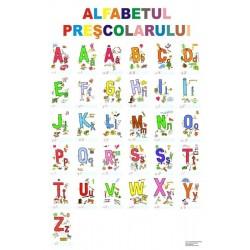 Alfabetul prescolarului, plansa format 1000x1400cm