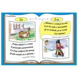 """Plansa Ortograma """"l-a"""" / cuvantul """"la"""""""