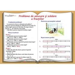Probleme de adunare si scadere a fractiilor