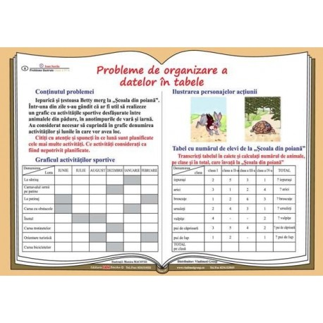 Probleme de organizare a datelor in tabele