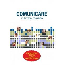 Planse Comunicare in limba romana. Fise de lucru pentru clasa pregatitoare
