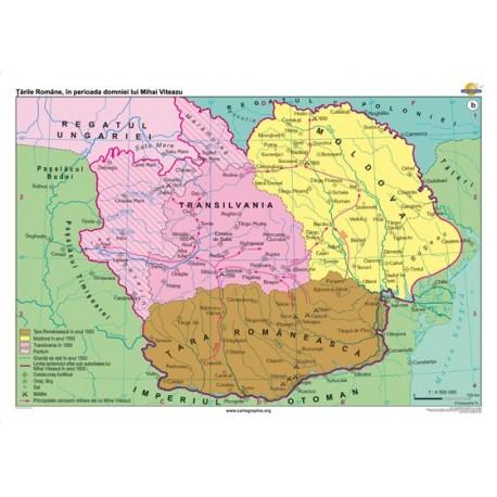 Tara Romaneasca, Moldova si Transilvania de la mijlocul sec. XIV pana la mijlocul sec. XVI
