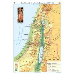 Cele 12 semintii ale lui Israel în Canaan (sec XIII–XII î. Hr.)