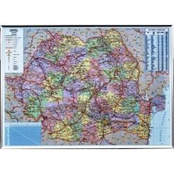 Harta Romania. Harta rutiera si administrativa