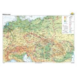 Harta Europa centrala