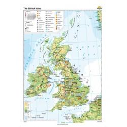 Harta Marea Britanie si Irlanda