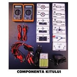 Kit electrocinetica pentru gimnaziu si liceu