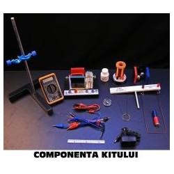 Kit electromagnetism pentru gimnaziu si liceu