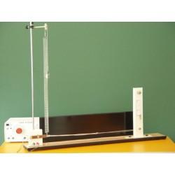 Dispozitiv pentru producerea si studiul undelor stationare longitudinale si transversale