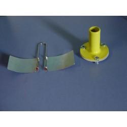 Dispozitiv cu suprafete convexe si cilindru cu fund mobil, ca aplicatii ale legii lui Bernoulli