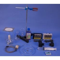 Dispozitiv de verificare a legilor gazului ideal cu instrumente electronice