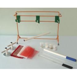 Set de componente pentru experiente de electrizare