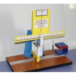 Dispozitiv pentru studiul fortei electromagnetice si a fortei electrodinamice