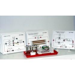 Set de circuite de electricitate, pentru studiul curentului continuu