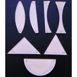 Set de modele din plexiglas