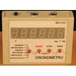 Cronometru electronic pentru experimente demonstrative