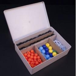 Modul pentru constructia modelelor atomice si moleculare pentru elev.