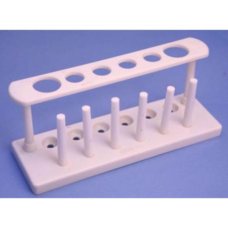 Stativ de plastic pentru 6 eprubete