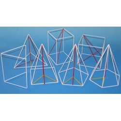 Set  corpuri geometrice din sarma - I