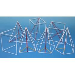 Set de corpuri geometrice din sarma