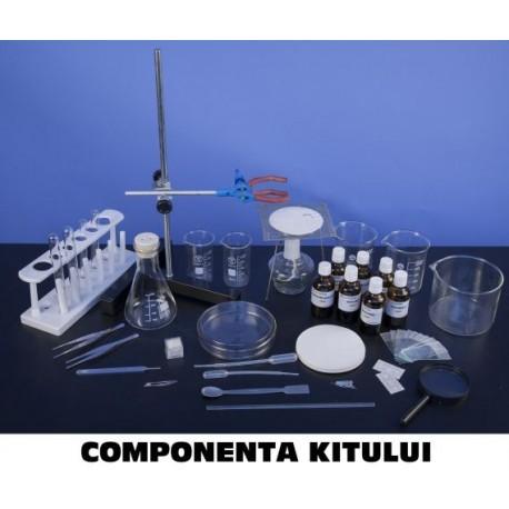 Trusa Ustensile de laborator de citologie, histologie, morfologie si anatomie vegetala