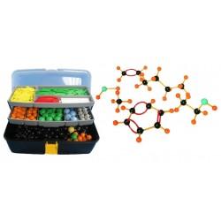 Set pentru modele moleculare de substante organice, anorganice si modele de retele cristaline