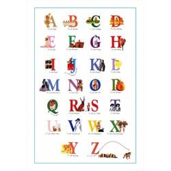 Alfabetul ilustrat al limbii engleze