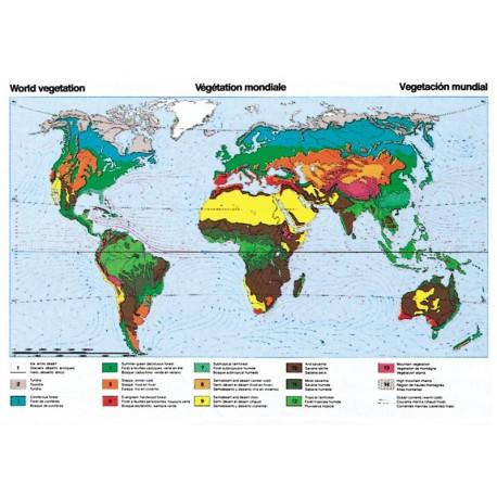 Harta vegetatiei Pamantului