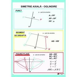 Simetrie axiala. Oglindire