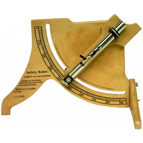 Dispozitiv pentru studiul aruncarii verticale si oblice