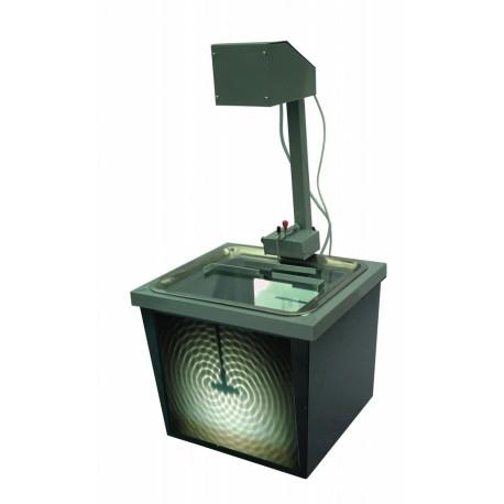 Bazin cu vibrator si stroboscop pentru studiul undelor de suprafata