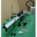 Dispozitiv demonstrativ pentru perna de aer cu accesorii pentru determinarea vitezei de deplasare
