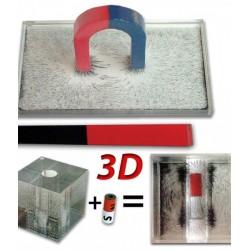 Dispozitive pentru spectrul magneticI in plan si tridimensional