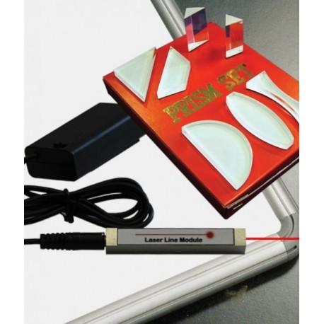 Trusa optica laser