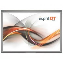 "Pachet Tabla interactiva 2x3 Esprit Dual Touch, 174×123 cm/80""+ Videoproiector short throw + Suport perete proiector"