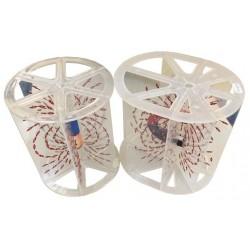 Dispozitiv pentru observarea liniilor de camp magnetic (solide)