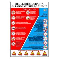 Regulile tehnicii de securitate in cabinetul de chimie