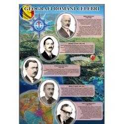 Portrete Geografi romani celebri