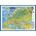 Europakarte fur kinder - 3D Reliefkarte