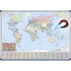 Harta politica a lumii -magnetica