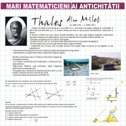 Mari matematicieni - Thales